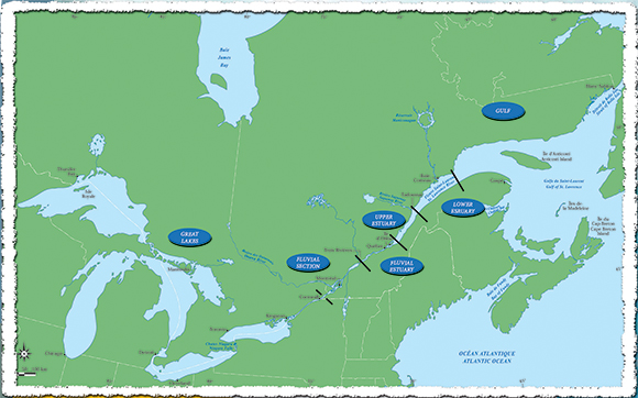 River Action Plan Daction SaintLaurent - St lawrence river on us map